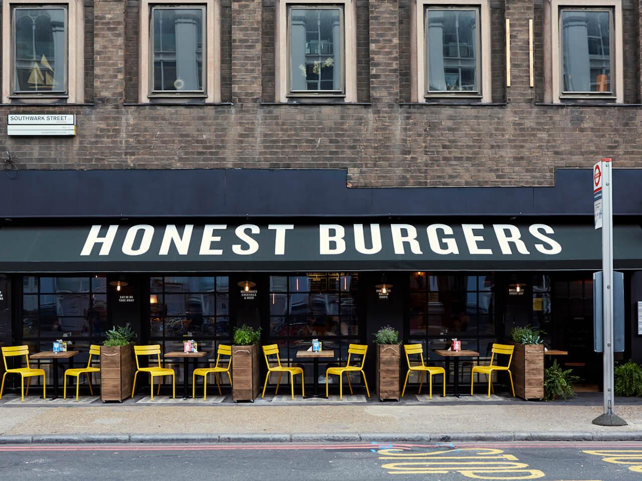 Borough Restaurant - Honest Burgers