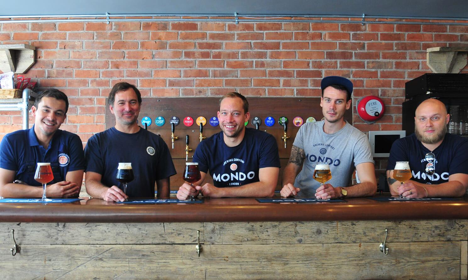 Mondo brew team