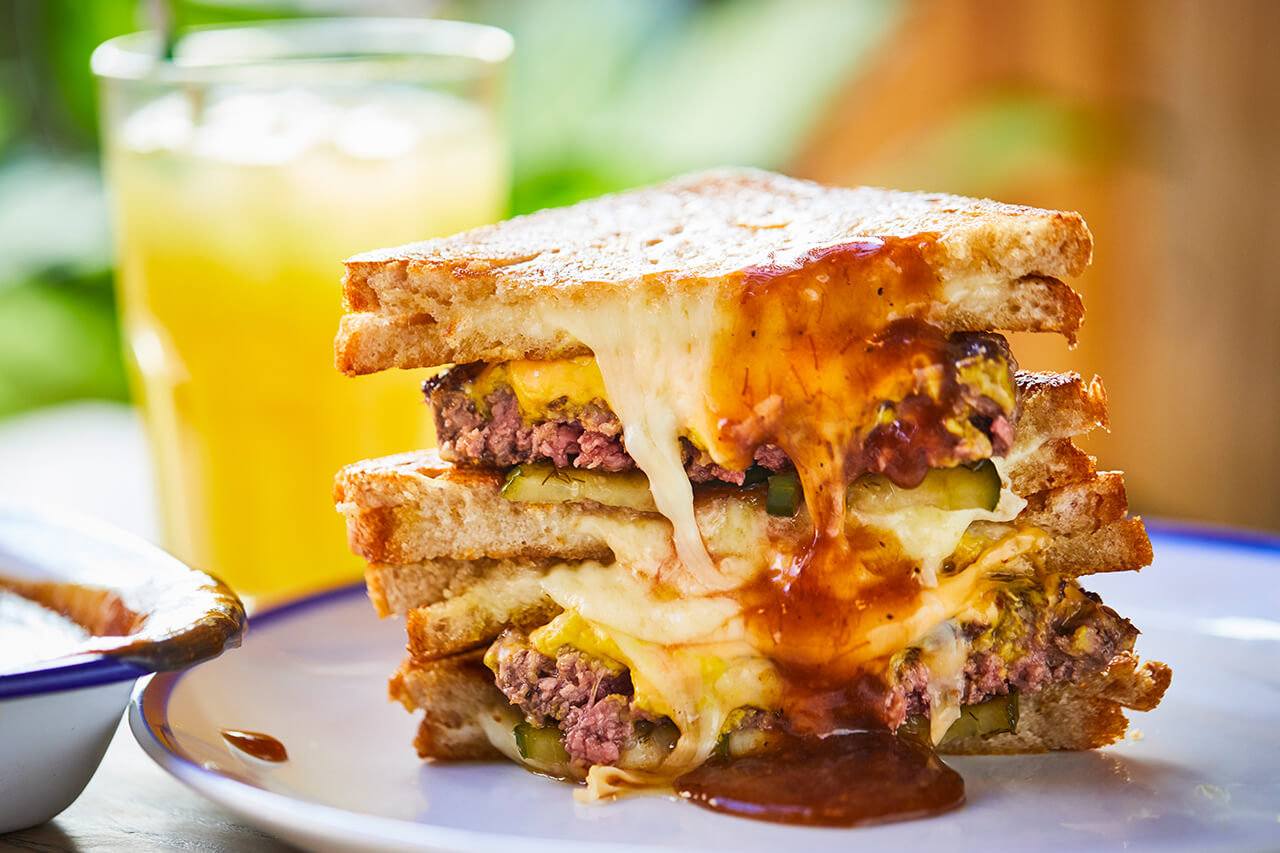 Cheese Burger Toastie