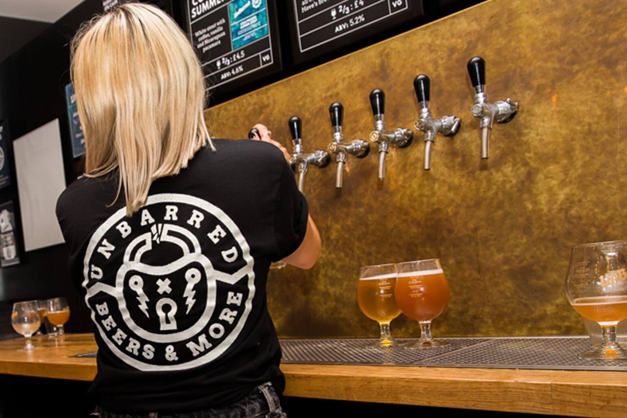 UnBarred Brighton Local craft beer