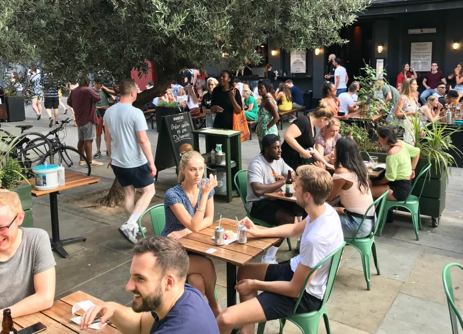Eat out to help out - honest burgers